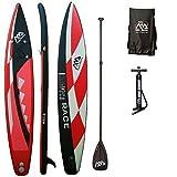AQUA MARINA, RACE+CARBON-Paddle, Paddle Board, SUP, 330x75x15 cm