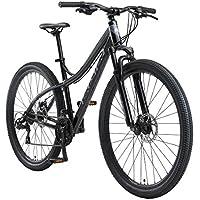 BIKESTAR VTT en Aluminium, Frein à Disque, 21 Vitesses Shimano, 26 27.5 29 Pouces | Mountainbike Suspension Avant Cadre 16, 17, 18 Pouces