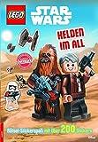 LEGO Star Wars Helden im All: Rätsel mit über 200 Stickern