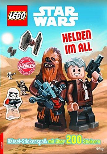 LEGO® Star WarsTM Helden im All: Rätsel mit über 200 Stickern