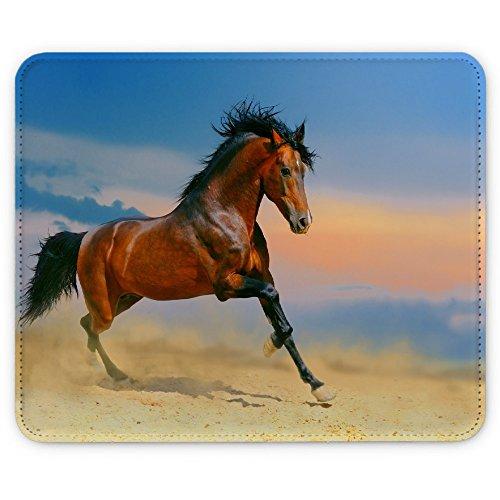 cavalli-10004-cavallo-al-galoppo-pelle-mouse-pad-tappetino-per-mouse-mouse-mat-con-immagine-colorato
