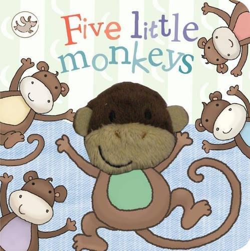 Little Learners Five Little Monkeys (Little Learners Finger Puppets)