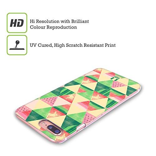 Head Case Designs Aquarelle Estampes De Pastèque Étui Coque Rigide Pour Apple iPhone 4 4S Tranches De Triangle