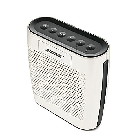 Bose SoundLink Colour Bluetooth Lautsprecher weiß