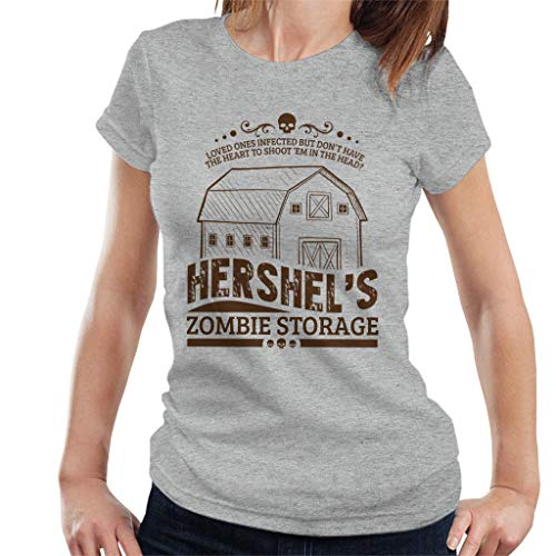 Walking Dead Hershels Zombie Storage Women's T-Shirt