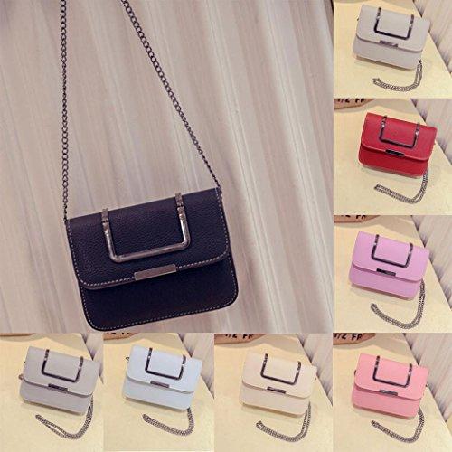 BZLine® Frauen Handtasche einzigen Schulter Telefon Münze Tasche, 19cm(L)*15cm(H)*6cm(W) Pink