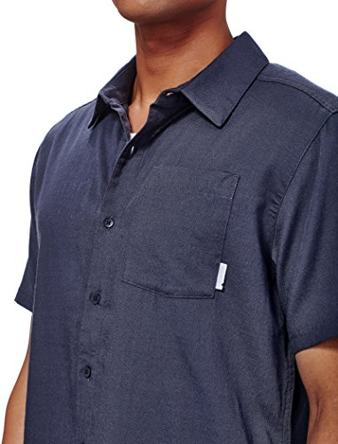 Icebreaker Herren Compass Ss Shirt Hemd Stealth