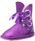 Emu Glitzy K10725, Unisex-Kinder Schneestiefel, Violett (Purple), EU 25/26 (UK 8) (US 9)