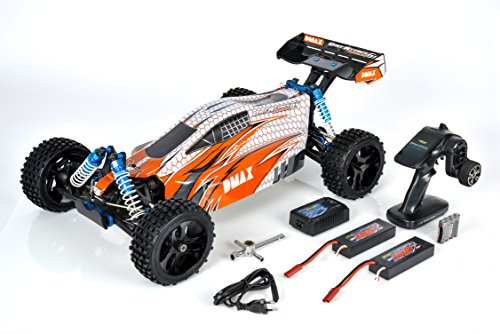 Carson 500409022 - DMAX 1:5 Dirt Attack 6S 100% RTR, Fahrzeug*