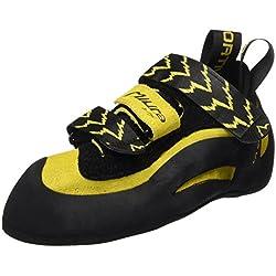 La Sportiva Miura VS - Pies de gato para hombre, color amarillo / negro, talla 42