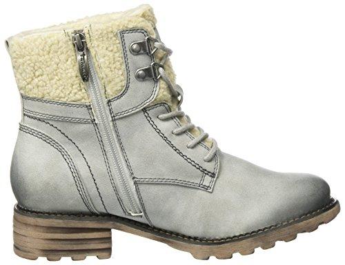 Tamaris Damen 26050 Combat Boots, Grau (Fog), 38 EU