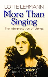 More Than Singing: The Interpretation of Songs