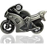 818-Shop No20400070016 Hi-Speed 2.0 USB-Sticks 16GB Metall Motorrad 3D silber