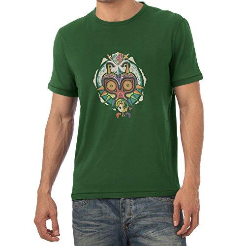 Texlab Legendary Moon - Herren T-Shirt, Größe XXL, Flaschengrün
