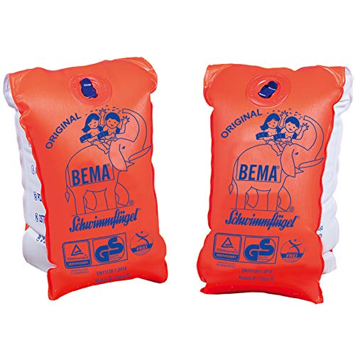 Schwimmflügel für Kinder von 11-30 kg - Bema Schwimmhilfe Schwimmgürtel Schwimmweste Wasser