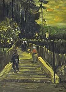 Vincent Van Gogh Papier Peint Photo/Poster - Chemin De Montmartre, 1886, 2 Parties (250 x 180 cm)