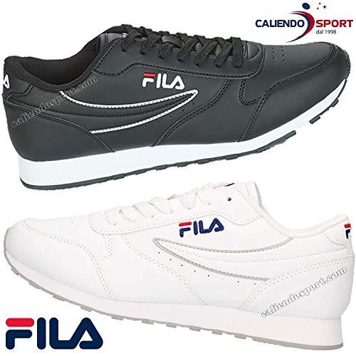 Fila Orbit Low Herren Sneaker Turnschuhe Freizeitschuhe Sportschuhe Black