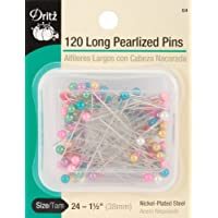 Dritz Largo Pearlized Pins-Size 24120/PKG