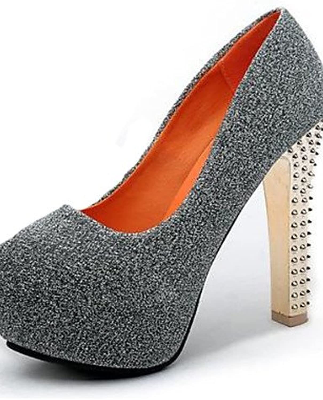 GGX/Damen Schuhe Fleece Sommer Heels Heels Casual Stiletto Heel andere schwarz/blau/grau