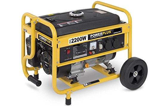 Mobiler benzinbetriebener Stromgenerator, Generator, Notstromaggregat 2.200 W