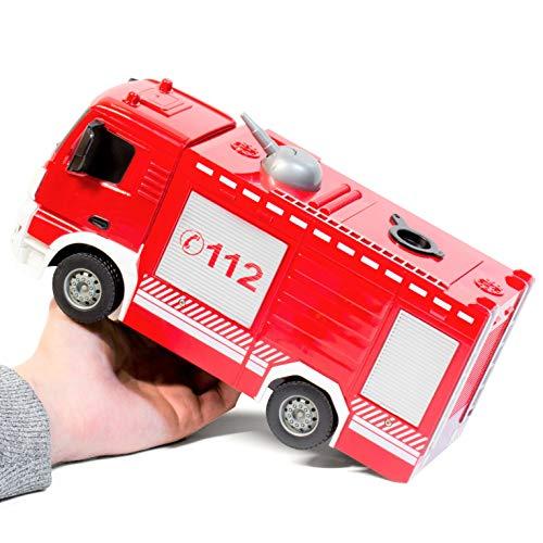 RC Auto kaufen Feuerwehr Bild 6: RAYLINE RC Feuerwehr Auto Car Ferngesteuerte Bus E572-003 Löschfahrzeug mit Wasserpumpe*