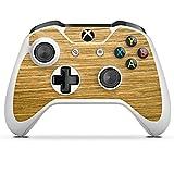 DeinDesign Microsoft Xbox One S Folie Skin Sticker aus Vinyl-Folie Aufkleber Holz Look Eichenholz Maserung