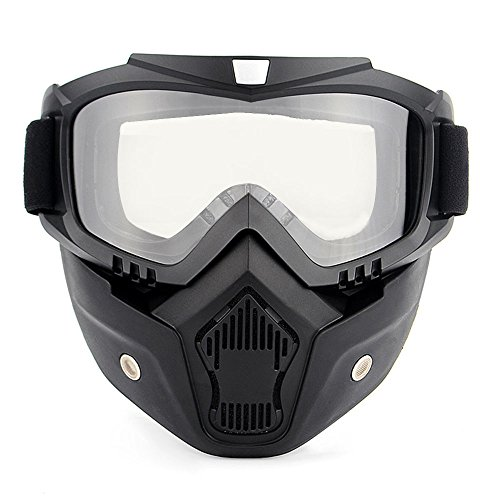 Lixada Motos Gafas UVA400 Protección Invierno Esquí