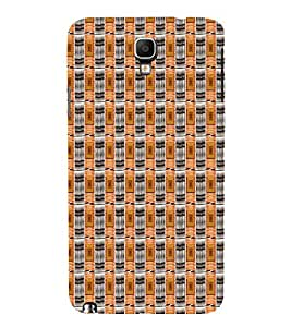 Abstract Art 3D Hard Polycarbonate Designer Back Case Cover for Samsung Galaxy Note 3 Neo N7505