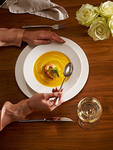 Villeroy & Boch For Me Dinner-Set / Hochwertiges Geschirr aus Porzellan in Weiß für jeden Anlass / 8-tlg. für 4 Personen