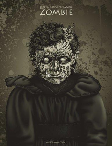 Livre de coloriage pour adultes Zombie 1