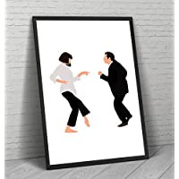 Pulp Fiction Poster - Movie Wall Art Print Decor Film Room Gift - Frame Not Included