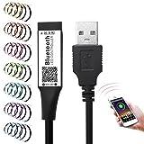 LED Bluetooth Controller für 3528 5050 RGB Lichtleiste Farbwechsel DC 5V mit Timer für Bar Home