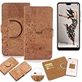 K-S-Trade 360° Cover cork Case for Huawei P20 Pro