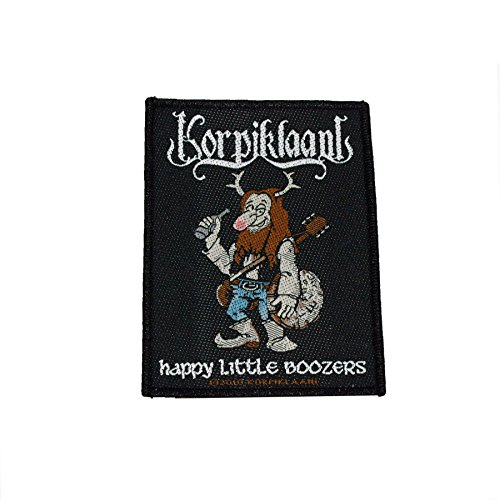 Korpiklaani - Patch Happy little Boozer`s (in 10 cm)