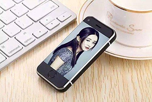 Cdma Verizon-handy (Unlocked Mini-Handy 2,45 Zoll Phonebaby Smartphone Android 5.1 OS Handy (schwarz))