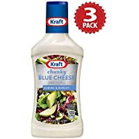 Kraft Salatsauce - Chunky Blue Cheese - 3er Pack (3x454g)