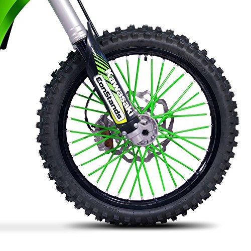 Speichencover Husqvarna 701 Supermoto Motea SPX grün
