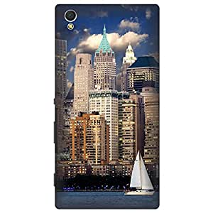 Digi Fashion Designer Back Cover with direct 3D sublimation printing for Sony Xperia C3 Dual