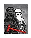 Lego Star Wars 'Seven' Coperta in pile – grande stampa design, multicolore