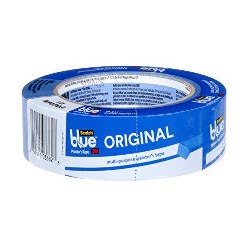 Aufkleber-schutz-klebeband Klare (ScotchBlue 2090-38A Maler-Abklebeband für alle Oberflächen, 38mmx 55m, 1 Rolle)