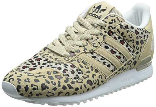 adidas Originals ZX 700, Sneakers Basses Homme - Multicolore (Dust Sand S15-st/dust Sand S15-st/core Black), 44.67 EU