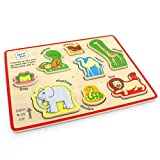 Milly & Flynn Dear Zoo Wooden Puzzle Tray