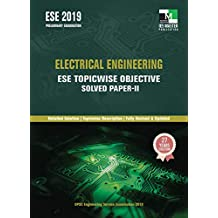 ESE 2019 - Electrical Engineering ESE Topicwise Objective Solved Paper 2