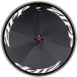 Zipp super-9Disc Tubular Hinterrad Track–Weiß Aufkleber