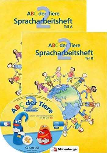 ABC der Tiere 2 – Spracharbeitsheft, Teil A und B, 2. Klasse