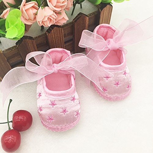 No brand , Petites chaussures pour nouveau-né fille Rose