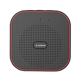 Stuffcool Monk Portable Bluetooth Speaker - Black / Red