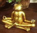 Boltze Deko-Figur Frosch Relax Höhe 18 cm