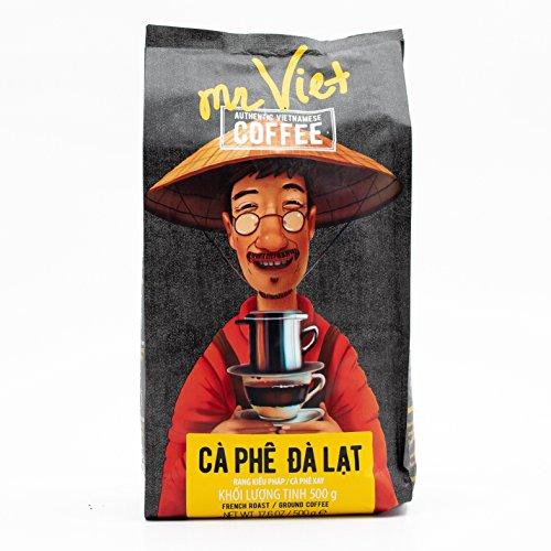 Mr. Viet Ca Phe Dalat Kaffee Vietnamesischer Gemahlener Geröstet Authentischer Vietnamesischer,...