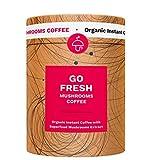 Go Fresh Superaliment Café instantané aux champignons, 10pk de chanterelle sauvage...